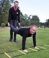 ARNHEM - De golfpro's van de Rosendaelsche GC. John Boerdonk en Menno Pelk . COPYRIGHT KOEN SUYK