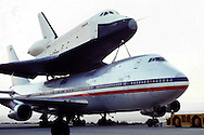 The Space Shuttle Enterprise in  November 1977...Photograph by Dennis Brack BBBs 20