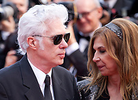 Director Jim Jarmusch and Sara Driver at the Opening Ceremony and The Dead Don't Die gala screening at the 72nd Cannes Film Festival Tuesday 14th May 2019, Cannes, France. Photo credit: Doreen Kennedy