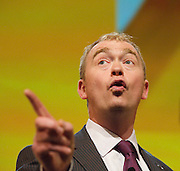 Liberal Democrats<br /> Autumn Conference 2011 <br /> at the ICC, Birmingham, Great Britain <br /> <br /> 17th to 21st September 2011 <br /> <br /> Tim Farron MP<br /> President of the Liberal Democrats<br /> Photograph by Elliott Franks