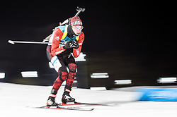 February 11, 2018 - Pyeongchang, Gangwon, South Korea - Jeremy Finello of Switzerland at Mens 10 kilometre sprint Biathlon at olympics at Alpensia biathlon stadium, Pyeongchang, South Korea on February 11, 2018. (Credit Image: © Ulrik Pedersen/NurPhoto via ZUMA Press)