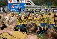 FODBOLD: Mesterskabsdans efter kampen i 3F Ligaen mellem Brøndby IF og Fortuna Hjørring den 11. maj 2019 på Brøndby Stadion. Foto: Claus Birch