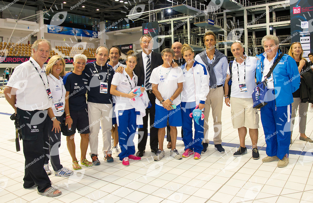 Venues<br /> 32nd LEN European Championships <br /> Berlin, Germany 2014  Aug.13 th - Aug. 24 th<br /> Photo P. Mesiano/Deepbluemedia/Inside