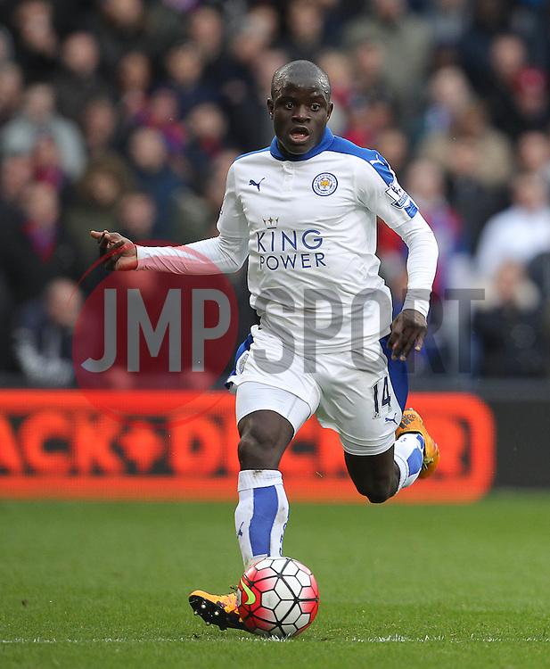 Ngolo Kante of Leicester City - Mandatory byline: Paul Terry/JMP - 19/03/2016 - FOOTBALL - Selhurst Park - London, England - Crystal Palace v Leicester City - Barclays Premier League