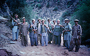 Mujahadeen fighters in the Hindu Kush Valley in Afghanistan 1982 during the war with the Soviet Union. ©2001 Ed Hille/Picturedesk.Net.ONE TIME USE ONLY