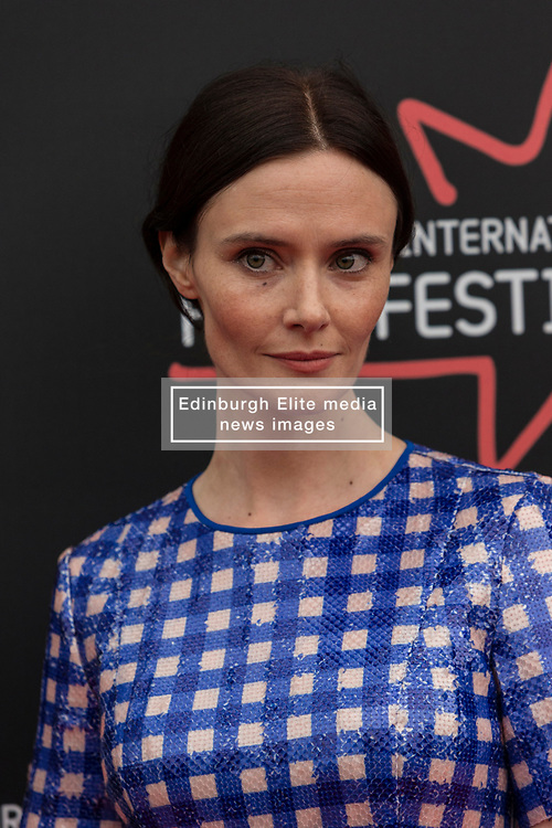 Photo-opportunity for The Dark Mile directed by Gary Love at the Edinburgh International Film Festival<br /> <br /> Pictured: Rebecca Calder