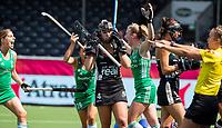 ANTWERP - BELFIUS EUROHOCKEY Championship.women  Ireland-Gemany (1-1).  Germany placed for semifinals . Ireland scored. Nike Lorenz (Ger) , Selin Oruz (Ger) , Sarah Hawkshaw (Irl)   WSP/ KOEN SUYK