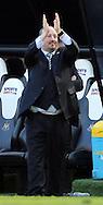 Newcastle United manager Rafa Benitez claps the fans after the Barclays Premier League match at St. James's Park, Newcastle<br /> Picture by Simon Moore/Focus Images Ltd 07807 671782<br /> 15/05/2016
