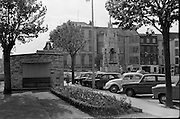 View of Cork City.  The National Memorial from the Memorial Park on the South Mall..26.05.1962