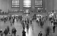 Oct 30, 2006; New York, NY, USA; Pedestrians inside Grand Central Station in New York City.<br /> Mandatory Credit: Photo by Marianna Day Massey/ZUMA Press.<br /> (&copy;) Copyright 2006 by Marianna Day Massey