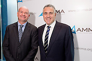 Steve Knott (Chief Executive, AMMA) and  Hon. Joe Hockey MP (Member For North Sydney, Shadow Treasurer). 2013 Australian Mines And Minerals Association Conference. Crown Conference Center, Melbourne, Victoria, Australia. 17/05/2013. Photo By Lucas Wroe