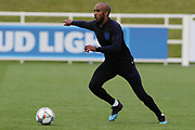 England midfielder Fabian Delph during the training session for England at St George's Park National Football Centre, Burton-Upon-Trent, United Kingdom on 28 May 2019.