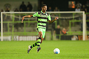 Forest Green Rovers Ethan Pinnock (16) on the ball during the Vanarama National League match between Forest Green Rovers and Eastleigh at the New Lawn, Forest Green, United Kingdom on 13 September 2016. Photo by Shane Healey.