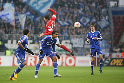 16.02.2013, Coface Arena, Mainz, GER, 1. FBL, 1. FSV Mainz 05 vs FC Schalke 04, 22. Runde, im Bild v.l.: Adam Szalai (MZ) gegen Joel Matip (S04) // during the German Bundesliga 22th round match between 1. FSV Mainz 05 and FC Schalke 04 at the Coface Arena, Mainz, Germany on 2013/02/16. EXPA Pictures © 2013, PhotoCredit: EXPA/ Eibner/ Matthias Neu ***** ATTENTION - OUT OF GER *****