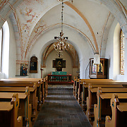 Bjällerups church, near Staffansport,  is one of the oldest Romanesque buildings in the Scania countryside, and also one of the best preserved. The church can be traced to the 1100s, but the exact dating is not possible.<br /> Photography by Jose More