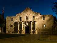 Cradle of Texas liberty, the Alamo began as the Mission San Antonio de Valero (established in its current location in 1724).  Construction on the church started in 1744, but was never completed.  Secularized in 1793, it became known as the Alamo in the early 1800's.  The Alamo housed Spanish, then Mexican military units until 1835, when it was surrendered to Texian forces during the Texas Revolution.  The Mexican army laid siege to the Alamo on February 23, 1836, leading to the climax of the Battle of the Alamo on March 6. Ending with virtually all of the defenders slain, the battle inspired many more Texans to join the revolution.  Less than two months later, the Mexican Army was defeated at the Battle of San Jacinto.
