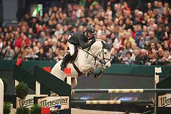 Estermann, Paul (SUI), Castlefield C Hunter<br /> Leipzig - Partner Pferd 2016<br /> Wernesgrüner Zeitspringen<br /> © www.sportfotos-lafrentz.de / Stefan Lafrentz