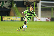 Jack Holmes during the Glos Senior Cup Final match between Forest Green Rovers and Bishops Cleeve at the New Lawn, Forest Green, United Kingdom on 2 May 2016. Photo by Shane Healey.