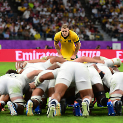Reece HODGE of Australia during the Rugby World Cup 2019 Quarter Final match between England and Australia on October 19, 2019 in Oita, Japan. (Photo by Dave Winter/Icon Sport) - Reece HODGE - Oita Stadium - Oita (Japon)
