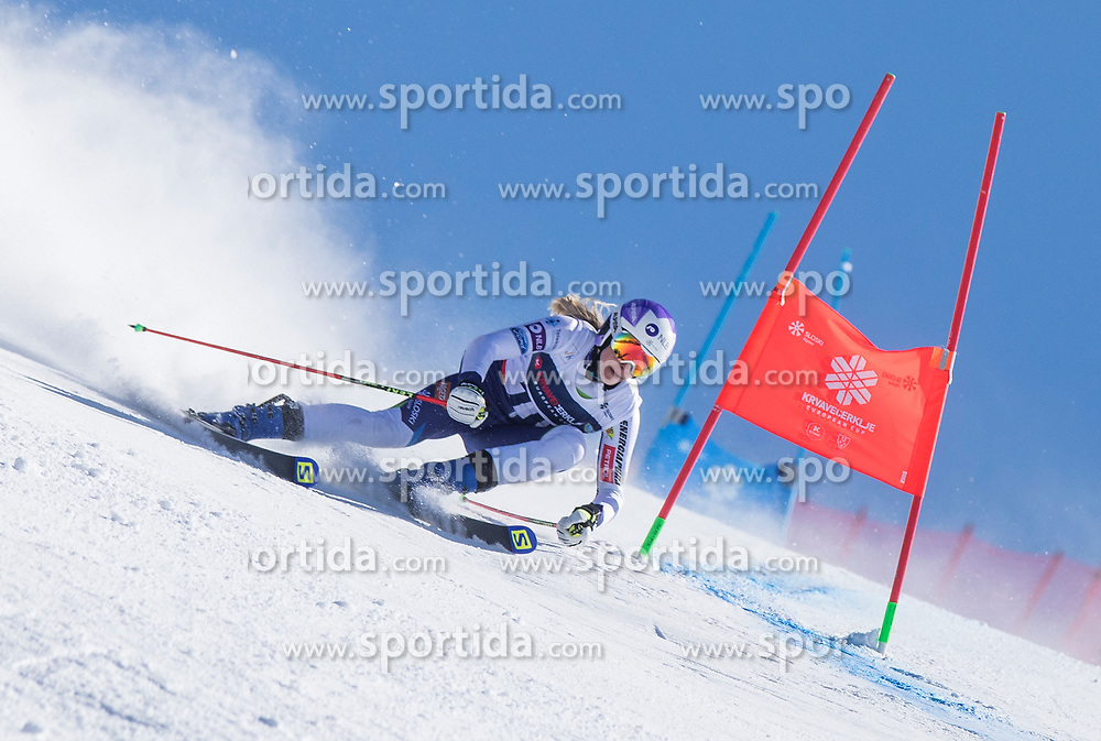 Ana Bucik from Slovenia during the giant slalom for European Cup on 27.2.2020 on Krvavec, Cerklje na Gorenjskem, Slovenia. Photo by Urban Meglič / Sportida