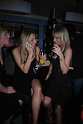 Debbie Moon, Louise Boobyer and Alexia Cooke. Krug at Tides Bar and Grill. St. David's `Hotel and Spa. Carfiff Bay. 14 April 2005. ONE TIME USE ONLY - DO NOT ARCHIVE  © Copyright Photograph by Dafydd Jones 66 Stockwell Park Rd. London SW9 0DA Tel 020 7733 0108 www.dafjones.com