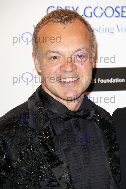 LONDON - NOVEMBER 10: Graham Norton attended the Grey Goose Winter Ball at Battersea Power Station, London, UK. November 10, 2012. (Photo by Richard Goldschmidt)