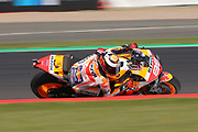 #99 Jorge Lorenzo, Spanish: Repsol Honda Team during the GoPro British MotoGP at Silverstone, Towcester, United Kingdom on 24 August 2019.