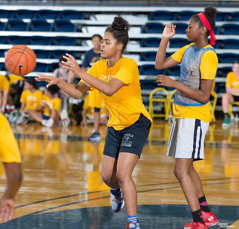 2017 A&T Women's Basketball Elite Basketball Camp