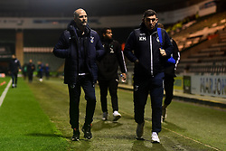 Bristol Rovers Caretaker Manager Joe Dunne and Kevin Maher  - Mandatory by-line: Ryan Hiscott/JMP - 17/12/2019 - FOOTBALL - Home Park - Plymouth, England - Plymouth Argyle v Bristol Rovers - Emirates FA Cup second round replay