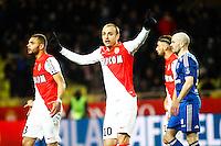 Dimitar BERBATOV - 01.02.2015 - Monaco / Lyon - 23eme journee de Ligue 1 -<br />Photo : Serge Haouzi / Icon Sport