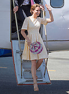 "CATHERINE, DUCHESS OF CAMBRIDGE AND PRINCE WILLIAM.arrive back at Honiara Airport after spending the night in Tuvanipupu, Solomon Islands_18/09/2012.Kate appears to be using a locally made fan to keep her cool..Mandatory credit photo: ©Dunlea/DIASIMAGES..""NO UK USE FOR 28 DAYS"" ..(Failure to credit will incur a surcharge of 100% of reproduction fees)..                **ALL FEES PAYABLE TO: ""NEWSPIX INTERNATIONAL""**..IMMEDIATE CONFIRMATION OF USAGE REQUIRED:.DiasImages, 31a Chinnery Hill, Bishop's Stortford, ENGLAND CM23 3PS.Tel:+441279 324672  ; Fax: +441279656877.Mobile:  07775681153.e-mail: info@newspixinternational.co.uk"