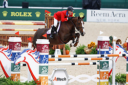 Mclain Ward (USA) and  Sapphire second in the first jumping competition<br /> Alltech FEI World Equestrian Games <br /> Lexington - Kentucky 2010<br /> © Dirk Caremans
