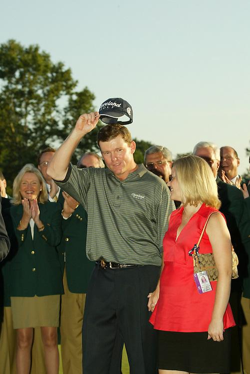 Shaun Micheel..2003 PGA Championship..Final Round..Oak Hill CC..Rochester, NY..Sunday, August 17 2003..photograph by Darren Carroll