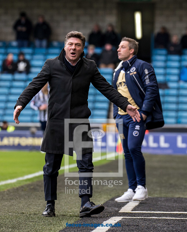 Walter Mazzarri manager of Watford during the FA Cup match at The Den, London<br /> Picture by Liam McAvoy/Focus Images Ltd 07413 543156<br /> 29/01/2017