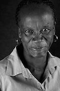 5 April 2012, Soshanguve, South Africa. Rosinah Mosuane born 7 June 1959.