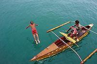 Philippines, archipel de Visayas, Port de Cebu. // Philippines, Visayas islands, Cebu port.