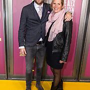 NLD/Amsterdam/20191007 - Premiere van De Alex Klaasen Revue - Showponies 2, Leo Alkemade en partner Margriet Baalmann