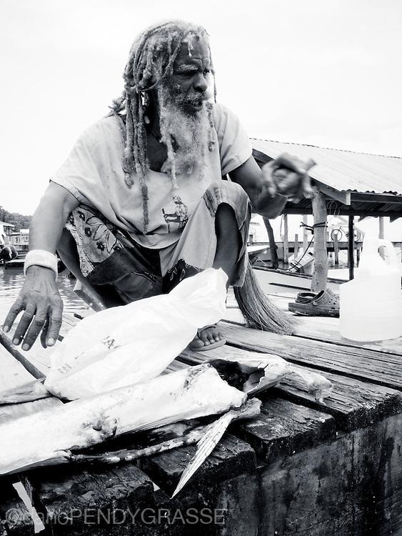 rasta and fish
