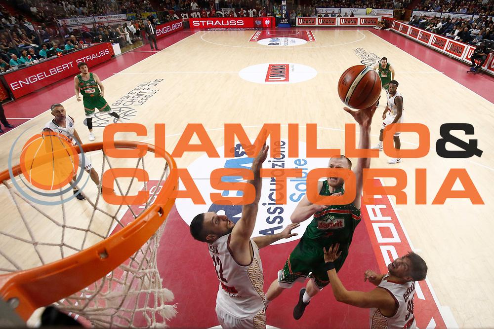 Damian Kulig<br /> Umana Reyer Venezia vs Banvit<br /> FIBA Basketball Champions League 2017/2018<br /> Venezia,  10/10/2017<br /> Foto Ciamillo-Castoria/A. Gilardi
