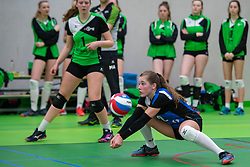 31-03-2019 NED: Final A Volleybaldirect Open, Koog aan de Zaan<br /> 16 teams of girls and boys A competed for the Dutch Open Championship / Sudosa-Destovs. Voltena