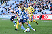 Coventry City midfielder Joe Cole (14)  during the Sky Bet League 1 match between Coventry City and Millwall at the Ricoh Arena, Coventry, England on 16 April 2016. Photo by Simon Davies.