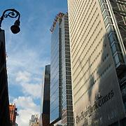 New York Times building. New York city, USA.