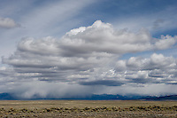 Summer storm on Sangre de Cristo Mountains in northern New Mexico.
