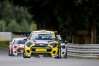 #13 Bence Balogh Mini F56 JCW during the MINI Challenge - JCW at Oulton Park, Little Budworth, Cheshire, United Kingdom. August 20 2016. World Copyright Peter Taylor/PSP.