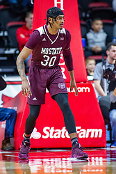 NORMAL, IL - January 07: Tulio Da Silva during a college basketball game between the ISU Redbirds and the University of Missouri State Bears on January 07 2020 at Redbird Arena in Normal, IL. (Photo by Alan Look)