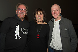 Pictured   William Black, Jeane Freeman and Paul Laverty<br /> <br /> The Ken Loach film 'I, Daniel Blake' was given a special screening in Edinburgh today in front of  anti-austerity campaigners. The event was arranged by William Black who was joined by the screenwriter, Paul Laverty, Minister for Social Security in Scotland Jeane Freeman, Lewis Akers, member of the Scottish Youth Parliament for Dunfermline, Mikle Valance, ACE and Action Against Poverty, Bill Scott, Inclusion Scotland with Sasha Gallagher afrom Disability History Scotland acting as co-ordinater of the Q&A. <br /> <br /> (c) Ger Harley | Edinburgh Elite media