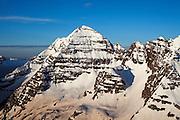 North Maroon Peak viewed from an unamed peak in the Elk Mountains, Colorado.