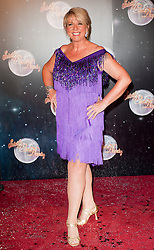 Fern Britten fellow Contestants as they line up for this years Strictly Come Dancing television show on BBC. Contestants will include Olympic medalist Victoria Pendleton, Tuesday September 11, 2012.Photo Andrew Parsons/i-Images