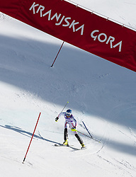 HOERL Wolfgang of Austria competes during the Men's Slalom - Pokal Vitranc 2012 of FIS Alpine Ski World Cup 2011/2012, on March 11, 2012 in Vitranc, Kranjska Gora, Slovenia.  (Photo By Vid Ponikvar / Sportida.com)