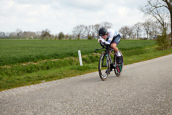 Rotem Gafinovitz (ISR) at Healthy Ageing Tour 2019 - Stage 4A, a 14.4km individual time trial starting and finishing in Winsum, Netherlands on April 13, 2019. Photo by Sean Robinson/velofocus.com